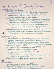 RENR 205 Midterm: Exam 2 Study Guide