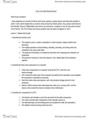COIS 1010H Lecture Notes - Lecture 6: Serial Communication, Plaintext, Software As A Service