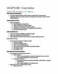 HROB 2100 Study Guide - Final Guide: Workplace Hazardous Materials Information System, Employee Assistance Program, Nominal Group Technique