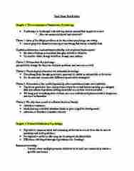 PSYCH 1X03 Study Guide - Midterm Guide: Table Tennis, Orienting Response, Chocolate Chip Cookie