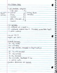 AGR 2320 Midterm: Soils Sci Midterm Notes/Study Guide