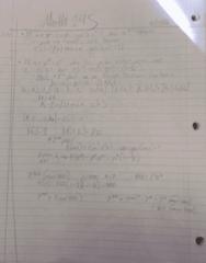 MATH245 Lecture 11: Math245 w8-1,2,3