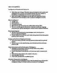 CHYS 2P10 Chapter Notes - Chapter 8: Theory Of Multiple Intelligences, Mendelian Inheritance