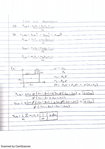 phy-11-lecture-15-com-and-momentum
