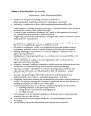 HROB 3100 Chapter Notes - Chapter 6: Goal Setting, Work Unit, Job Satisfaction