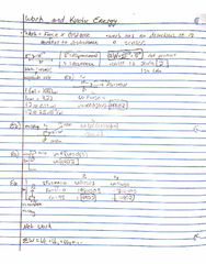 PHY 122 Lecture Notes - Lecture 6: Torc