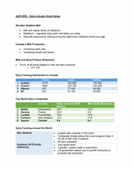 AGR 2350 Study Guide - Final Guide: Brown Swiss, Manure Management, Particle Size