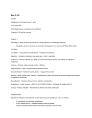 PEDS101 Lecture Notes - Lecture 1: Embryonic Stem Cell, Loose Connective Tissue, Creatine Kinase
