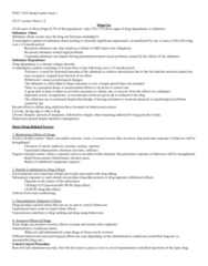 PSYC 3030 Study Guide - Midterm Guide: Receptor Antagonist, Nicotinic Acetylcholine Receptor, Ph