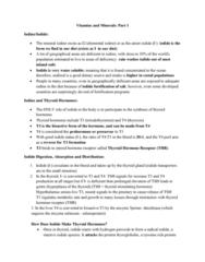 NUTR 3210 Lecture Notes - Lecture 9: Triiodothyronine, Enterocyte, Beta-Carotene