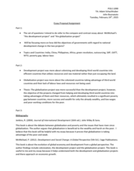POLS 1090 Lecture Notes - Lecture 18: Sage Publications, John Wiley & Sons, General Agreement On Tariffs And Trade