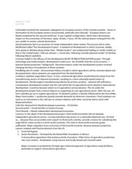 POLS 1090 Lecture Notes - Lecture 4: Crop Rotation, Decolonization, Wage Labour