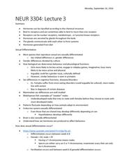 NEUR 3304 Lecture Notes - Lecture 3: Midshipman Fish, Allosome, Y Chromosome