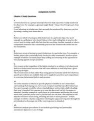 PSYC 2660 Lecture Notes - Lecture 1: Apple Juice, Sport Psychology, Classical Conditioning