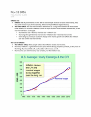 ECON 203 Lecture Notes - Lecture 16: Nominal Interest Rate, Real Interest Rate, Loanable Funds