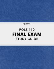POLS 110 Study Guide - Comprehensive Final Guide: Liberal Democracy, Illiberal Democracy, Robert A. Dahl
