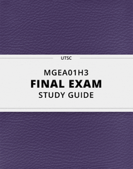 [MGEA01H3] - Final Exam Guide - Ultimate 33 pages long Study Guide!