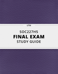 SOC227H5 Study Guide - Comprehensive Final Guide: Practical Reason, Enes Kanter, Blue-Collar Worker