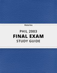 PHIL 2003 Study Guide - Comprehensive Final Guide: Euphemism, Ignaz Semmelweis, False Dilemma