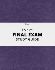 [CS 121] - Final Exam Guide - Everything you need to know! (121 pages long)