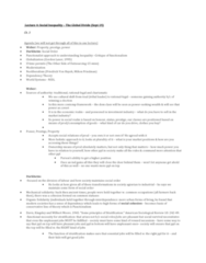 SOCIOL 2R03 Lecture Notes - Lecture 4: Friedrich Hayek, Kingsley Davis, Melvin Tumin
