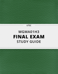 [MGMA01H3] - Final Exam Guide - Comprehensive Notes for the exam (59 pages long!)