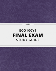 [ECO100Y1] - Final Exam Guide - Comprehensive Notes for the exam (57 pages long!)