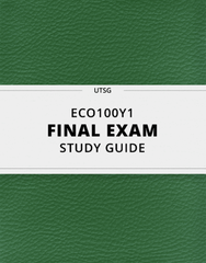 [ECO100Y1] - Final Exam Guide - Ultimate 71 pages long Study Guide!
