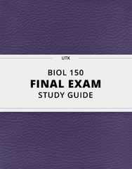 [BIOL 150] - Final Exam Guide - Comprehensive Notes for the exam (199 pages long!)