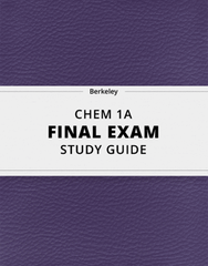 [CHEM 1A] - Final Exam Guide - Everything you need to know! (22 pages long)