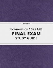 [Economics 1022A/B] - Final Exam Guide - Ultimate 66 pages long Study Guide!