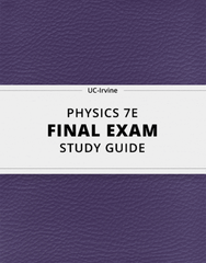 [PHYSICS 7E] - Final Exam Guide - Ultimate 41 pages long Study Guide!