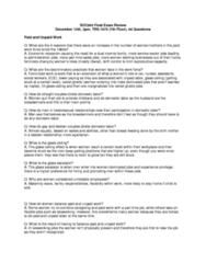 SOC 605 Study Guide - Final Guide: Parental Leave, Sandwich Generation, Visible Minority