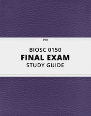 [BIOSC 0150] - Final Exam Guide - Ultimate 29 pages long Study Guide!