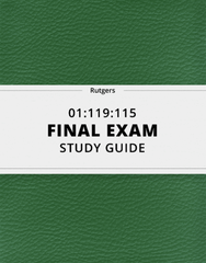 [01:119:115] - Final Exam Guide - Comprehensive Notes for the exam (251 pages long!)