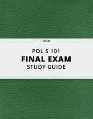 [POL S 101] - Final Exam Guide - Ultimate 23 pages long Study Guide!