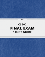 [CS202] - Final Exam Guide - Ultimate 23 pages long Study Guide!