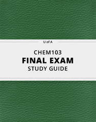 [CHEM103] - Final Exam Guide - Ultimate 22 pages long Study Guide!