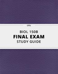 BIOL 150B Study Guide - Comprehensive Final Guide: Intermediate Filament, Photorespiration, Endomembrane System