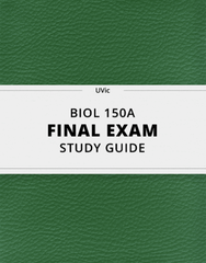 [BIOL 150A] - Final Exam Guide - Comprehensive Notes for the exam (43 pages long!)