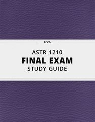 [ASTR 1210] - Final Exam Guide - Ultimate 22 pages long Study Guide!
