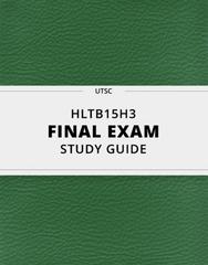 HLTB15H3 Study Guide - Comprehensive Final Guide: Qualitative Property, Paradigm Shift, Data Analysis