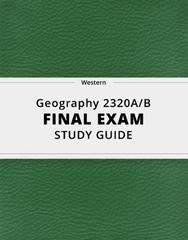 Geography 2320A/B Study Guide - Comprehensive Final Guide: Sympatric Speciation, Medium Ground Finch, Emerald Ash Borer