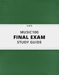 MUSIC100 Study Guide - Comprehensive Final Guide: Counterpoint, Soltyrei, Twerking