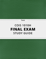 COIS 1010H Study Guide - Comprehensive Final Guide: Software As A Service, Tuff, Bitcoin