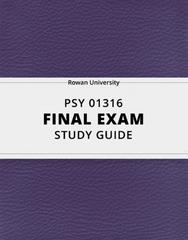 PSY 01316 Study Guide - Comprehensive Final Guide: Repeatability, John Bowlby, Libido
