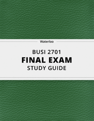 BUSI 2701 Study Guide - Comprehensive Final Guide: Ethnocentrism, Mercantilism, Externality