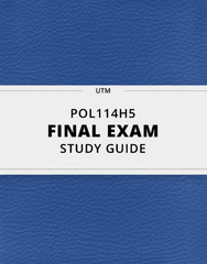 [POL114H5] - Final Exam Guide - Everything you need to know! (30 pages long)