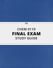 [CHEM 0110] - Final Exam Guide - Ultimate 46 pages long Study Guide!