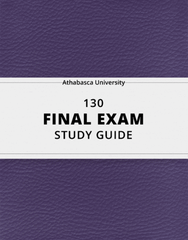 [130] - Final Exam Guide - Comprehensive Notes for the exam (129 pages long!)